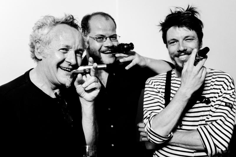 No Noise No Reduction - NNNR - Marc Démereau : Saxophone Baryton, Marc Maffiolo, Florian Nastorg : Saxophone Basse