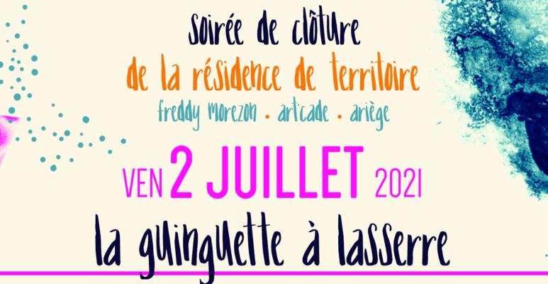 Résidence de Territoire • Art'Cade, Scène de musiques actuelles • Ariège