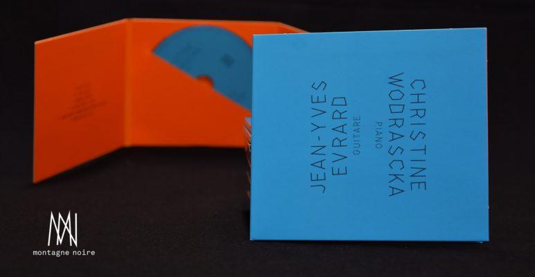 Nouvel album // Jean-Yves Evrard & Christine Wodrascka (label Montagne Noire, GMEA)