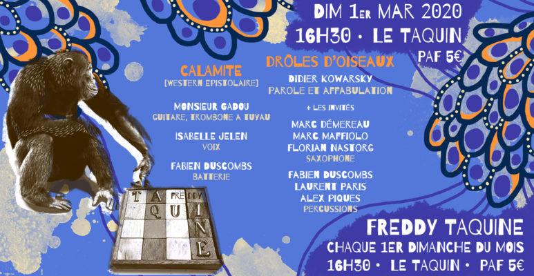 Freddy Taquine : Calamité + Drôles d'oiseaux (Didier Kowarsky)
