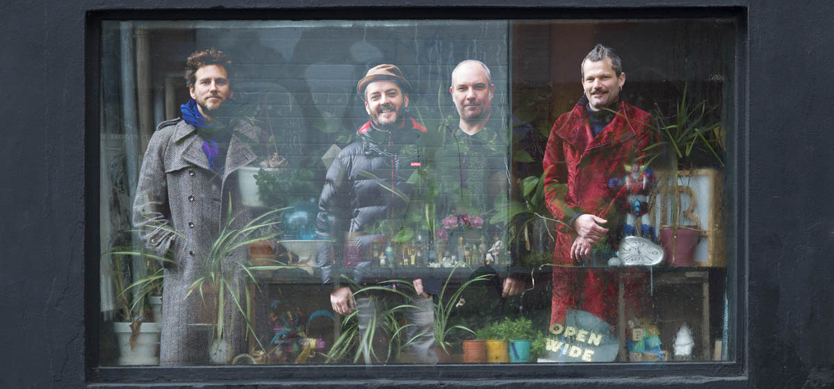 Bedmakers - Robin Fincker, Mathieu Werchowski, Dave Kane, Fabien Duscombs
