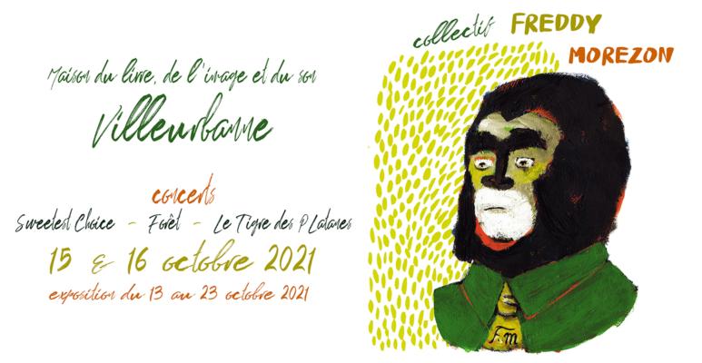 Au fil du collectif Freddy Morezon / Villeurbanne / octobre 2021